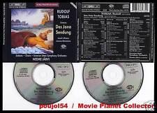 "TOBIAS ""Des Jona Sendung-Oratorio"" (2 CD) N.Jarvi 1995"