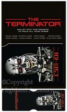 The Terminator Endoskeleton Pass Card Holder Ticket Wallet Official CH0126 New