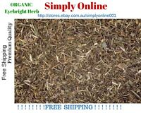 ORGANIC 100 GRAM EYEBRIGHT HERB - Euphrasia officinalis - FREE POSTAGE