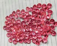 Natural Zircon Pink Color Round Cut Loose Gemstone Lot