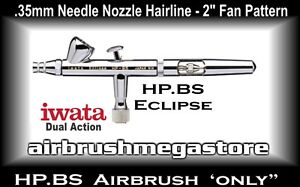 Iwata Eclipse Airbrush HP.BS .35mm ( Airbrush Only ) + Free Insured Post