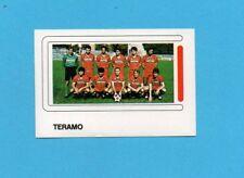 CALCIO 1988-EUROFLASH-Figurina n.445-SQUADRA/TEAM-TERAMO-NEW