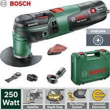 Bosch PMF250CES Multifunktionswerkzeug Oszillierend Multitool Starlock Schleifer