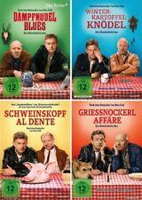 4 DVDs * EBERHOFER KRIMI -  ALLE 4 FILME IM SET - Sebastian Bezzel # NEU OVP %