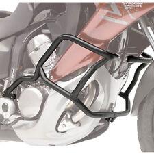GIVI PARAMOTORE TUBOLARE 25mm ACCIAIO NERO HONDA XL700V TRANSALP 2008-2013 TN455