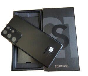 Samsung Galaxy S21 Ultra 5G SM-G998B/DS - 256 Go - Phantom Black (Déverrouillé)