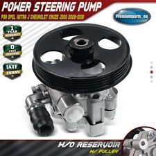 Power Steering Pump w/ Pulley for Opel Astra J Chevrolet Cruze J300 1.6L 1.8L