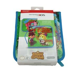 Animal Crossing Universal Folio Travel Case for Nintendo 3DS/2DS Protection NEW