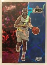Chris Paul 2017 Panini The National GALACTIC WINDOWS Parallel #'d 1/5 - CLIPPERS