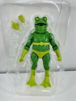 Marvel Legends Frog Man Into The Spider Verse Wave No Stilt Man BAF New 2021