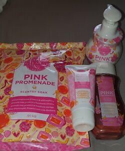Scentsy Pink Promenade bundle