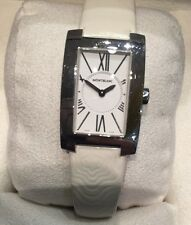 WATCH / MONTRE QUARTZ POUR FEMME MARQUE MONTBLANC PROFILE @ FULL SET @ TOP ETAT