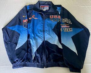 Champion 1996 Atlanta Olympics Full Graphics XXL Jacket - Like New