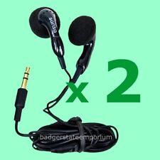 2 SANDISK SANSA EARPHONES Earbuds Headphones for Jam Clip+ Zip Fuze  NEW GENUINE