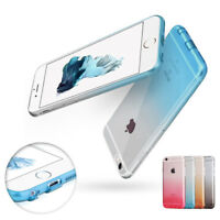 For iPhone 6S Plus 6 Shockproof Slim Transparent Clear Soft TPU Protective Case