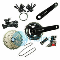 New 2018 Shimano Deore XT M8000 Double 2x11 22-speed Groupset Group set