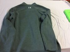Under Armour Men's 2Xl Grey Sweatshirt ColdGear Pullover