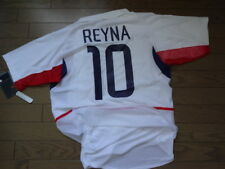 USA America #10 Reyna 100% Authentic Player Issue Soccer Jersey M 2002 WC Rare