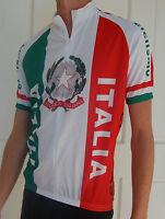 ITALIAN Italy Cycling Bike Jersey Mens Ladies Womans XS S M L XL XXL XXXL