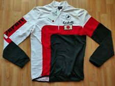 Castelli Japan Flag Men's Long Sleeve Thermal Cycling Jersey Size: L NEW!
