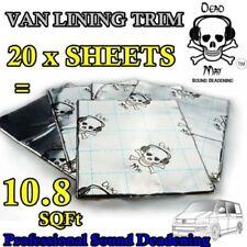 Van Car Sound Deadening Proofing Dead Mat Metal Foil Audio Panel 1m VW T 5 6