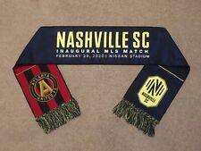 Nashville SC Inaugural Match Scarf Atlanta United