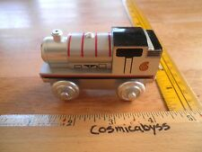 Thomas the Tank Engine Percy silver wooden train LE 60 year limited edition