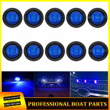 10x Blue 12V Decorate Front Grille LED Lights Kit For Toyota Tacoma Ford Jeep