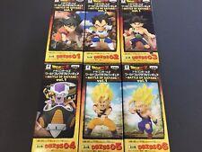 Dragon Ball Z World Collectable Figure WCF Doll BATTLE OF SAIYANS Vol.1 1 Set 6