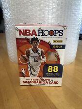 2020-2021 NBA Hoops Blaster Box SEALED 1 box- AUTO/memorabilia per box