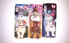 Ty Beanie Babies,Britannia The Bear,Glory The Bear,Maple The Bear