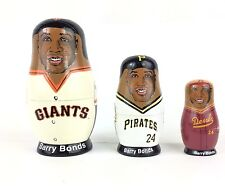 Barry Bonds MLB San Francisco Giants Pirates Babooshka Russian Nesting Doll