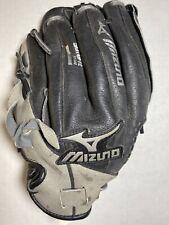 Mizuno Youth Baseball Glove Black Leather 10.5� Gpp1051 Left Hand- Right Throw