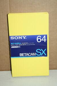 SONY BCT-64SXLA Betacam SX Metall Videokassette