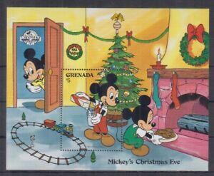 L466. Grenada - MNH - Cartoons - Disney's - Christmas Eve
