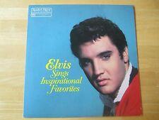 Elvis Presley LP:  Elvis Sings Inspirational Favorites, Reader's Digest/RCA 1983