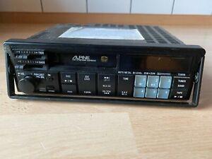 Autoradio ALPINE Cassette CD-Wechsler Steuerung Quick Out mit Rahmen