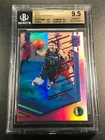 LUKA DONCIC 2018 PANINI CHRONILES #278 ELITE PINK HOLOFOIL ROOKIE RC ALL BGS 9.5