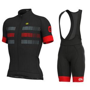 Mens Cycling Jersey and Bib Short Set Cycling Jersey Short Sleeve Cycling Shorts