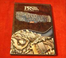 PRS GUITARS DVD 2003 - Factory tour
