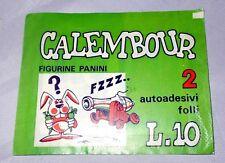 """BUSTINA di FIGURINE PIENA """"Calembour"""" con lire 10 edizioni Panini anni '70"""
