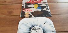 JAGUAR - POWER GAMES - SPECIAL MARBLED VINYL CLASSIC NWWOBHM LP MINT UNPLAYED !
