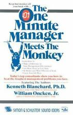 The One Minute Manager Meets the Monkey, Blanchard, Kenneth, Good Book