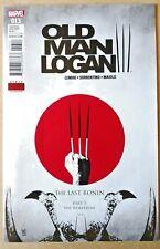 Old Man Logan #13 The Last Ronin Part 5 The Wolverine Marvel Comics