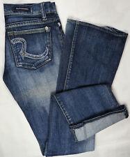 ROCK REPUBLIC Roth Womens Jeans Denim USA Skinny Flare Embellished 24 (28x32)