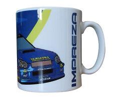 Subaru Impreza WRC Rally Car Gift Mug