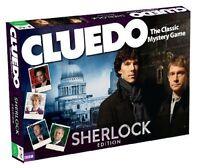 CLUEDO - The Worlds Best Classic Murder Mystery Board Game SHERLOCK Edition