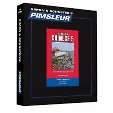 Pimsleur Learn/Speak CHINESE MANDARIN Language Level 5 CDs NEW!!