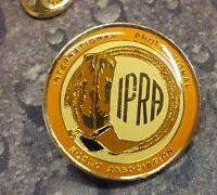 IPRA International Professional Rodeo Association vintage pin badge