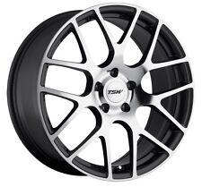 18x8 TSW Nurburgring 5x110 Rims +40 Gunmetal Wheels (Set of 4)
